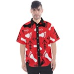 RED SWATCH#2 Men s Short Sleeve Shirt