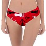 RED SWATCH#2 Reversible Classic Bikini Bottoms