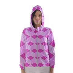 Series In Pink F Hooded Windbreaker (women) by MoreColorsinLife