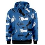 BLUE #2 Men s Pullover Hoodie