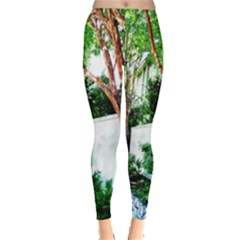 Hot Day In Dallas 40 Leggings  by bestdesignintheworld