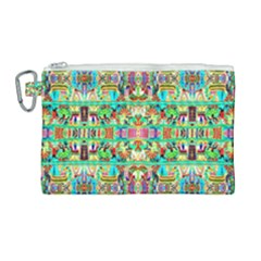 H 9 Canvas Cosmetic Bag (large) by ArtworkByPatrick1