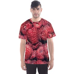 Red Raspberries Men s Sports Mesh Tee by FunnyCow