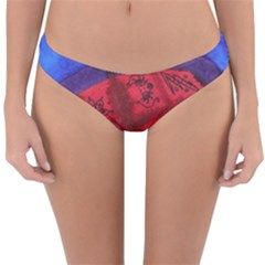 Red Egg Reversible Hipster Bikini Bottoms by snowwhitegirl