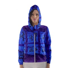 Save The Butterfly Egg Hooded Windbreaker (women) by snowwhitegirl