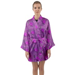 Punk Baby Violet Long Sleeve Kimono Robe