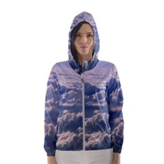 In The Clouds Hooded Windbreaker (women) by snowwhitegirl