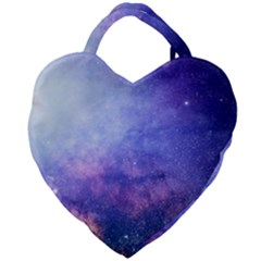 Galaxy Giant Heart Shaped Tote