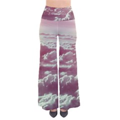 In The Clouds Pink So Vintage Palazzo Pants by snowwhitegirl
