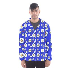 Eggs Blue Hooded Windbreaker (men) by snowwhitegirl