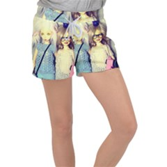Women s Velour Lounge Shorts by snowwhitegirl