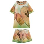 Elves 2769599 960 720 Kids  Swim Tee and Shorts Set