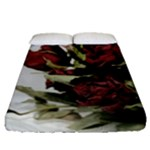 Roses 1802790 960 720 Fitted Sheet (Queen Size)