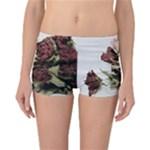 Roses 1802790 960 720 Reversible Boyleg Bikini Bottoms