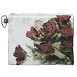 Roses 1802790 960 720 Canvas Cosmetic Bag (XXL)