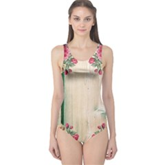 Roses 1944106 960 720 One Piece Swimsuit