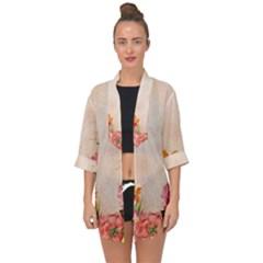 Flower 1646045 1920 Open Front Chiffon Kimono by vintage2030