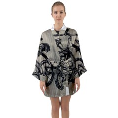 Tricycle 1515859 1280 Long Sleeve Kimono Robe by vintage2030