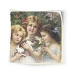 Vintage 1501558 1280 Square Tapestry (Small)