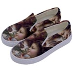 Vintage 1501558 1280 Kids  Canvas Slip Ons