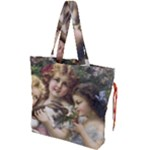 Vintage 1501558 1280 Drawstring Tote Bag