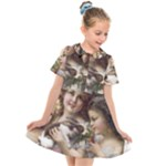 Vintage 1501558 1280 Kids  Short Sleeve Shirt Dress