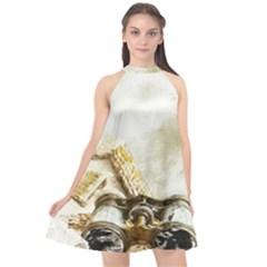 Background 1660942 1920 Halter Neckline Chiffon Dress  by vintage2030