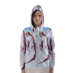 Background 1660365 1920 Hooded Windbreaker (women) by vintage2030