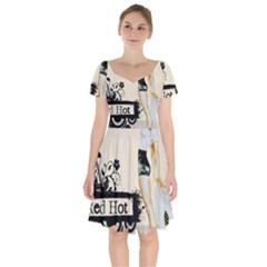 Retro 1112777 960 720 Short Sleeve Bardot Dress by vintage2030