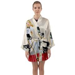 Retro 1112777 960 720 Long Sleeve Kimono Robe by vintage2030