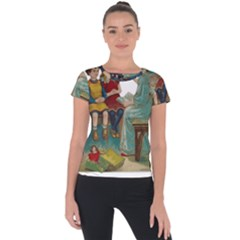 Angel 1347118 1920 Short Sleeve Sports Top  by vintage2030