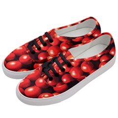 Pile Of Red Tomatoes Women s Classic Low Top Sneakers by FunnyCow