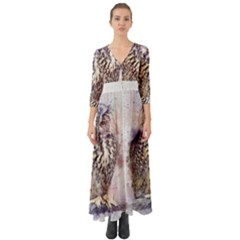 Bird 2552769 1920 Button Up Boho Maxi Dress by vintage2030