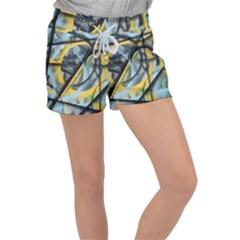 Foresight Women s Velour Lounge Shorts by WILLBIRDWELL