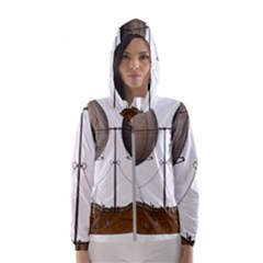 Air Ship 1300078 1280 Hooded Windbreaker (women) by vintage2030
