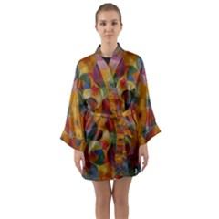 J 4 Long Sleeve Kimono Robe by ArtworkByPatrick1