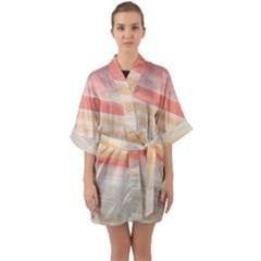 Alien Atmosphere Quarter Sleeve Kimono Robe by WILLBIRDWELL