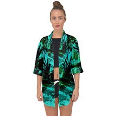 Hot Day In Dallas 50 Open Front Chiffon Kimono by bestdesignintheworld
