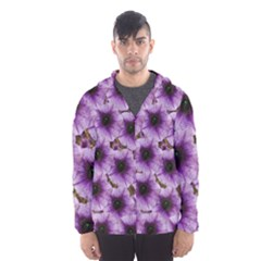 The Sky Is Not The Limit For Beautiful Big Flowers Hooded Windbreaker (men) by pepitasart