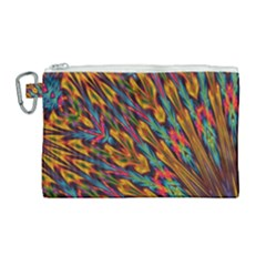 Background Abstract Texture Canvas Cosmetic Bag (large) by Sapixe