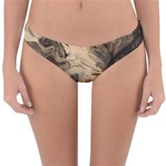 Honey Bee Reversible Hipster Bikini Bottoms by WILLBIRDWELL