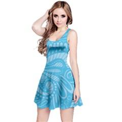 Pop Sky Reversible Sleeveless Dress by ArtByAmyMinori