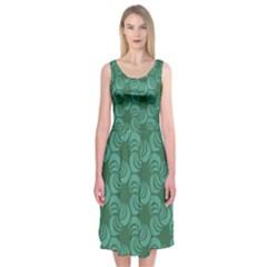 Layered Knots Midi Sleeveless Dress by ArtByAmyMinori