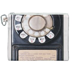 Vintage Payphone Canvas Cosmetic Bag (xxl) by Samandel