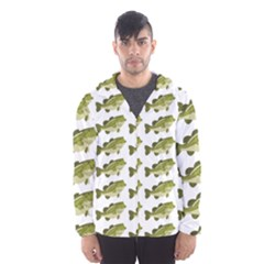 Green Small Fish Water Hooded Windbreaker (men) by Alisyart