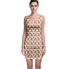 Babby Gingerbread Bodycon Dress