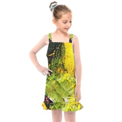 Yellow Chik 5 Kids  Overall Dress by bestdesignintheworld