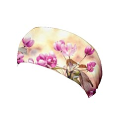 Paradise Apple Blossoms Yoga Headband by FunnyCow