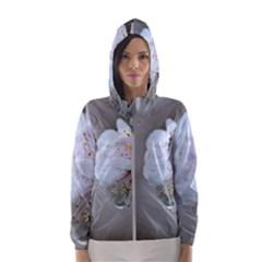 Rainy Day Of Hanami Season Hooded Windbreaker (women) by FunnyCow