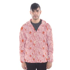 Pink Crochet Hooded Windbreaker (men) by snowwhitegirl